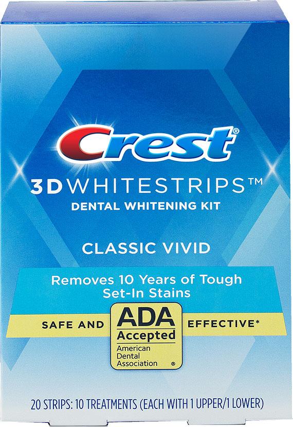 Balenie s najmenším počtom pásikov s nižšou koncentráciou. 12-dňová aplikácia na 30 minút denne. Nižší level bielenia zubov.