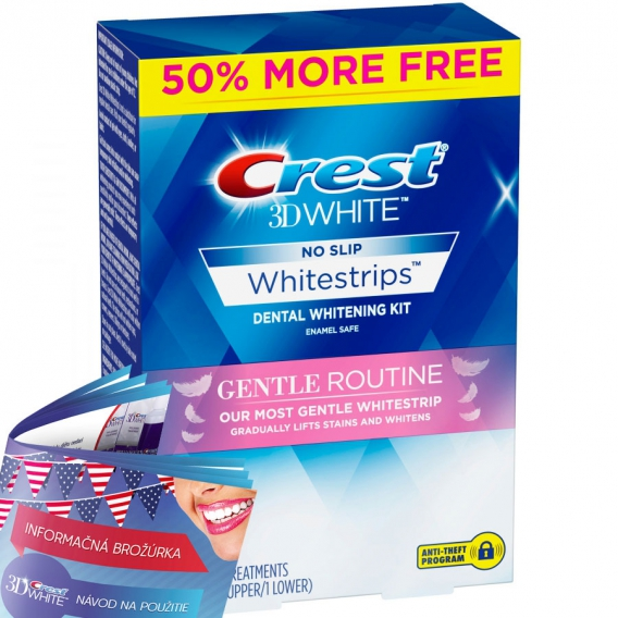 Crest 3D White Gentle Routine + 50 % BONUS