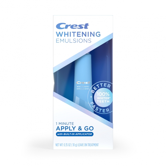 Bieliace pero na zuby Crest WHITENING EMULSIONS